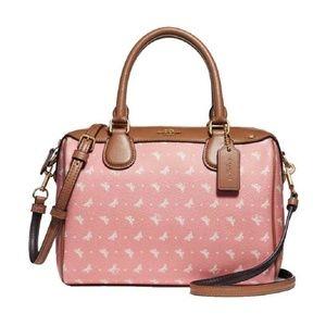 Coach F29806 Mini Bennett Butterfly Pink Handbag